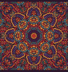boho oriental indian kerchief vector image
