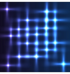 Disco lights shining background vector