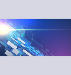 Futuristic background with space elements vector