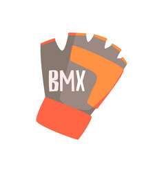 gloves with fingers cut off for better grip part vector image