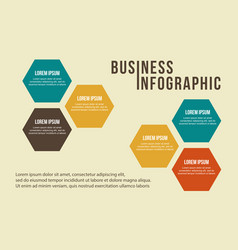 Step concept business infographic collection vector