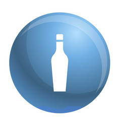 whiskey glass icon simple style vector image