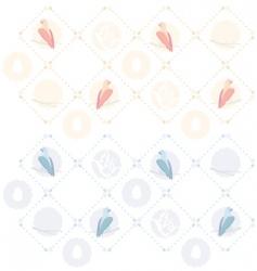 bird seamless pattern vector image