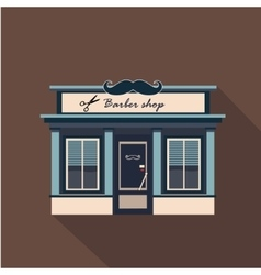 Restaurants and shops facade storefront vector image vector image