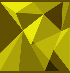 Yellow low poly design element background vector