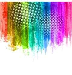 Blue violet paint splashes gradient background vector