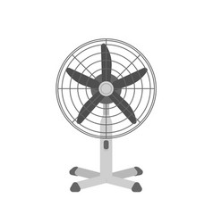 desk air fan realistic summer vector image
