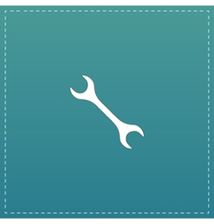 Mechanic wrench icon vector