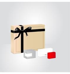Perfume packaging vector image