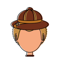 safari hunter design vector image