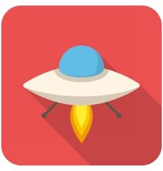 UFO icon vector