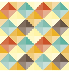 abstract geometric pattern retro vector image vector image