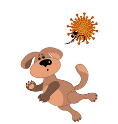 A dog and a very scary virus virus attack vector