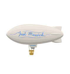 Ballon wedding aerostat transport vector