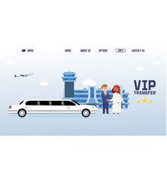 business partner people meeting in international vector image