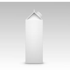 Milk Juice Carton Packaging Package Box White vector