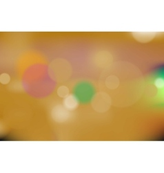 Orange bokeh background vector