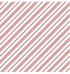 Red white striped texture seamless pattern vector