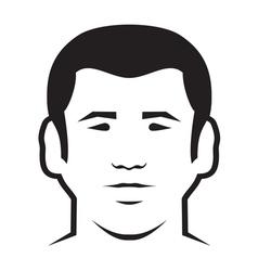 Man icon2 vector image