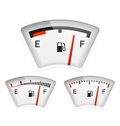 Fuel gauge vector image vector image
