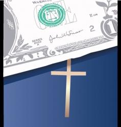 money bible vector image