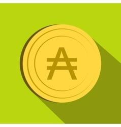 Austral icon flat style vector image