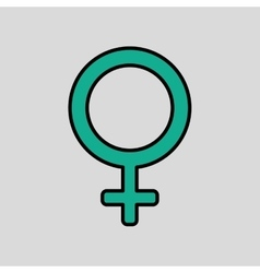 Gender icon design vector