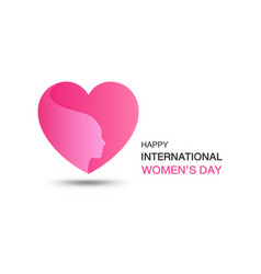 happy international womens day design element vector image