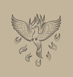 Holyspirit fire icon vector