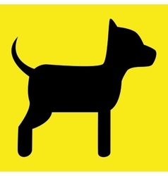 Pet and animal icon vector image