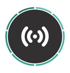 Wi-Fi computer symbol vector image