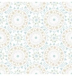Decorative boho seamless pattern vector