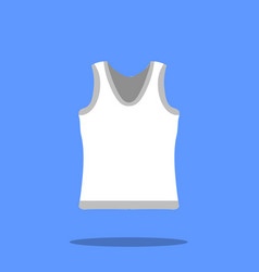 male singlet sketch icon isolated on vector image