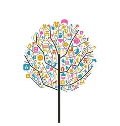 Tree baby vector image vector image
