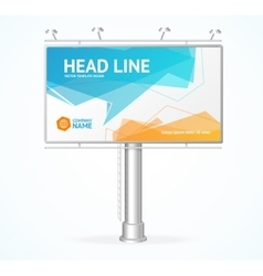 Billboard Concept vector image
