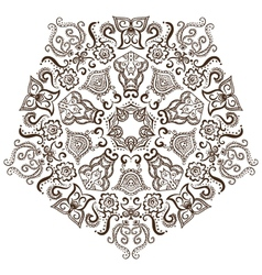 Circular pattern of indian vector