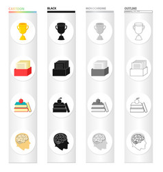 Information study specialty and other web icon vector