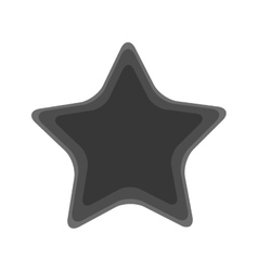 Isolated starfish design vector