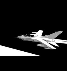 panavia tornado vector image