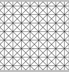 Seamless grid texture - simple linear pattern vector