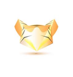 Set of minimal geometric animal low poly symbol vector