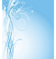 winter abstract vector image vector image