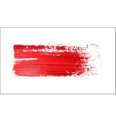 red brush strokes - backdrop for your text vector image vector image