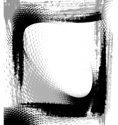 textured frame vector image vector image