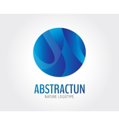 Abstract logo template for branding and vector