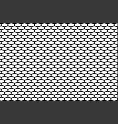 Abstract pattern black net on white vector