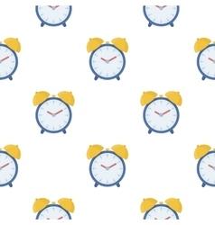 Alarm clock icon in cartoon style isolated on vector