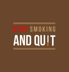 Background of no tobacco day flat vector