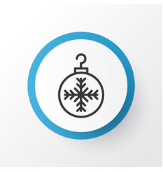 Christmas ball icon symbol premium quality vector