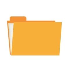 folder file archive design vector image